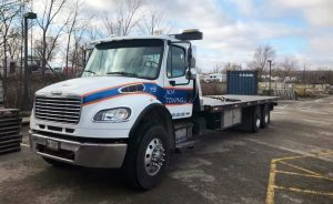JKM Flatbed Tow Truck