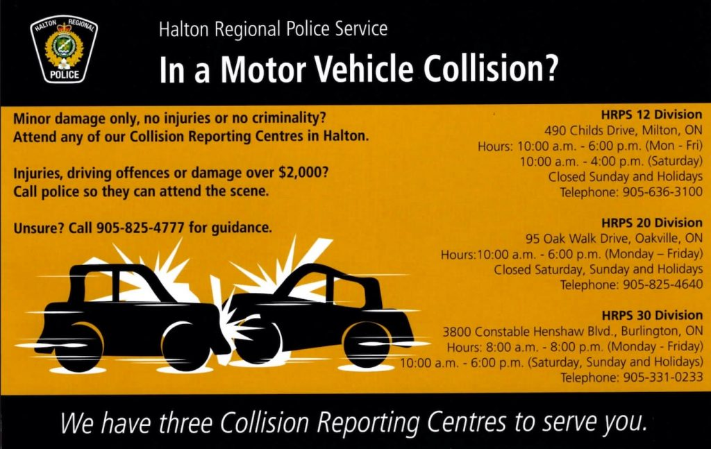 HRPS Been in accident