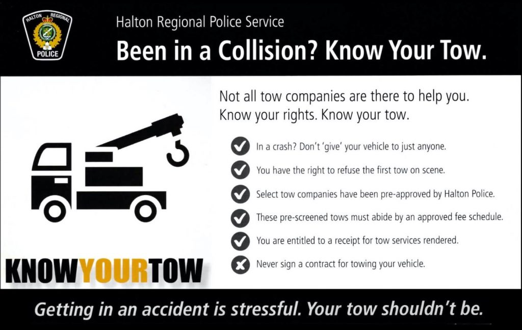 HRPS Know your tow