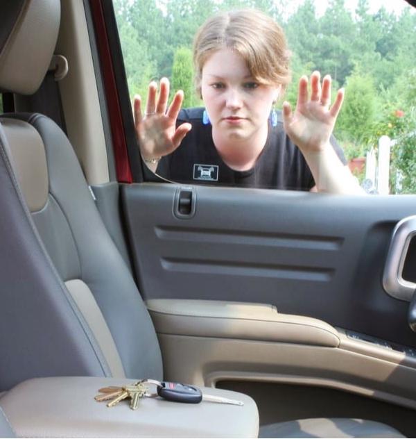 Keys Locked in Vehicle